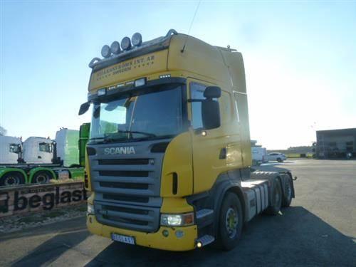 Scania R420, Dragbilar, Transportfordon