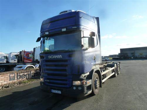 Scania R440, Chassier, Transportfordon