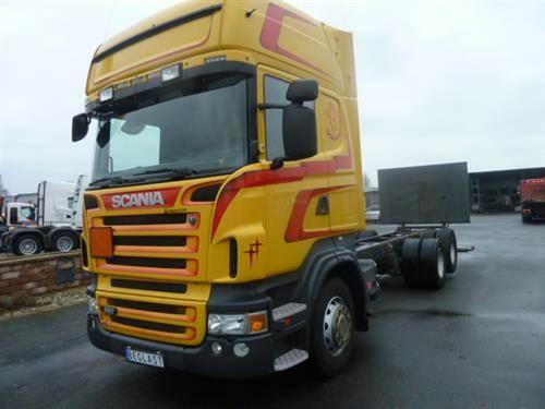 Scania R480, Chassier, Transportfordon