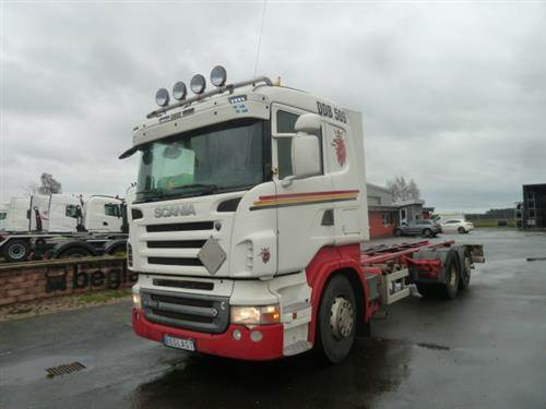Scania R480, Chassier, Transportfordon
