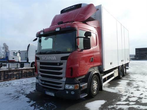 Scania R480, Skåpbilar Kyl/Frys/Värme, Transportfordon