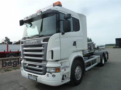 Scania R480, Lastväxlare med kabellift, Transportfordon