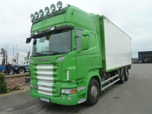 Scania R500, Skåpbilar, Transportfordon
