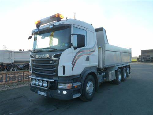 Scania R500, Tippbilar, Transportfordon