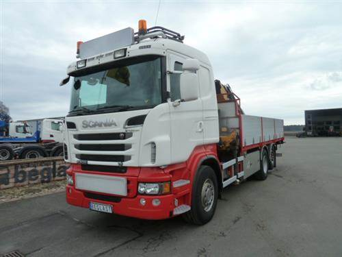 Scania R500, Övriga bilar, Transportfordon