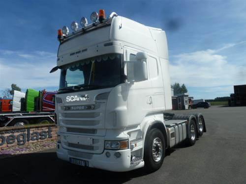 Scania R500, Dragbilar, Transportfordon