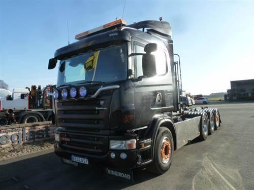 Scania R500, Lastväxlare/Krokbilar, Transportfordon
