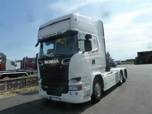 Scania R520, Dragbilar, Transportfordon