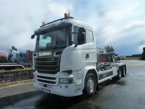Scania R520, Lastväxlare/Krokbilar, Transportfordon