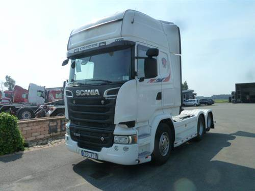 Scania R520, Dragbilar, Transportfordon