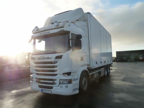 Scania R520, Skåpbilar Kyl/Frys/Värme, Transportfordon