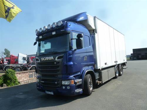 Scania R560, Skåpbilar Kyl/Frys/Värme, Transportfordon