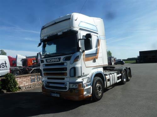 Scania R560, Dragbilar, Transportfordon