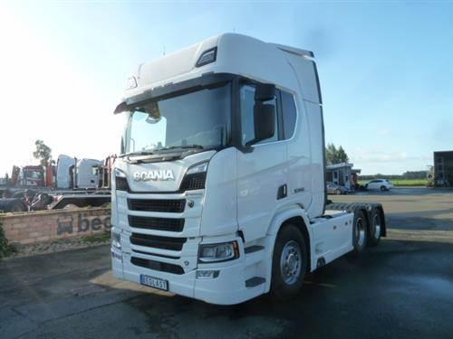 Scania R580, Dragbilar, Transportfordon
