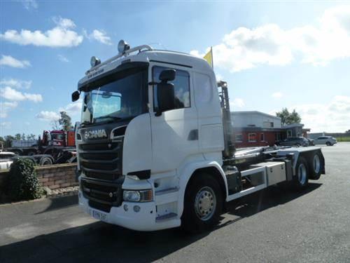 Scania R580, Lastväxlare/Krokbilar, Transportfordon