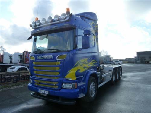 Scania R730, Lastväxlare/Krokbilar, Transportfordon