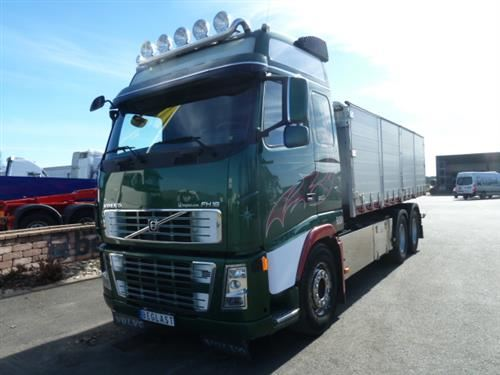 Volvo FH16, Tippbilar, Transportfordon
