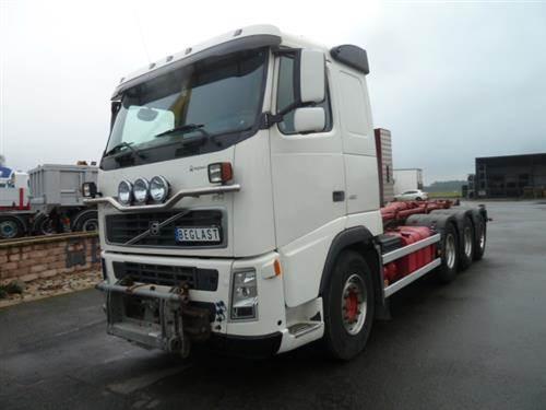 Volvo FH480, Lastväxlare med kabellift, Transportfordon