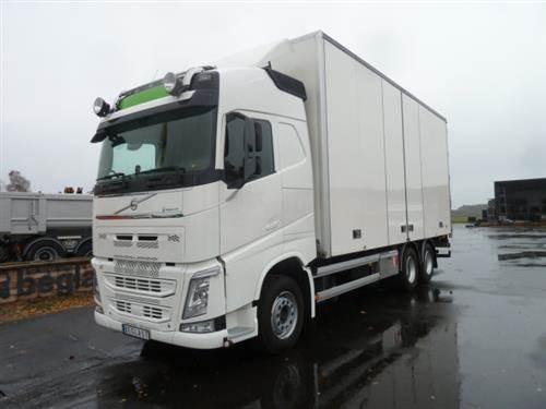 Volvo FH540, Skåpbilar, Transportfordon