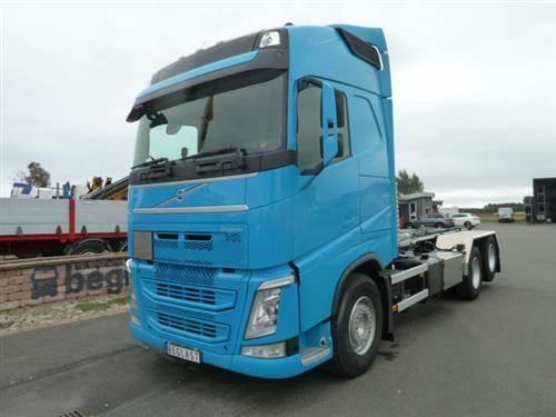 Volvo FH540, Lastväxlare med kabellift, Transportfordon