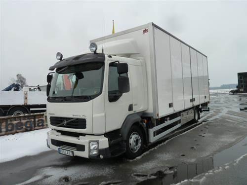 Volvo FL290, Skåpbilar, Transportfordon