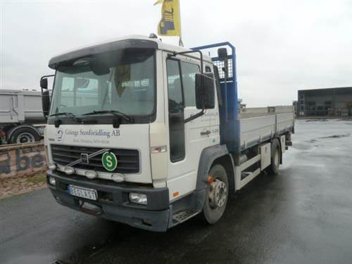 Volvo FL614, Flakbilar, Transportfordon