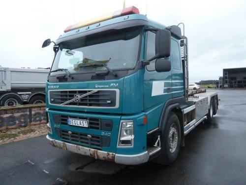 Volvo FM340, Lastväxlare med kabellift, Transportfordon