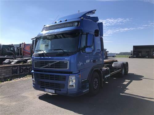 Volvo FM380, Chassier, Transportfordon