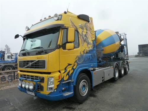 Volvo FM480, Chassier, Transportfordon