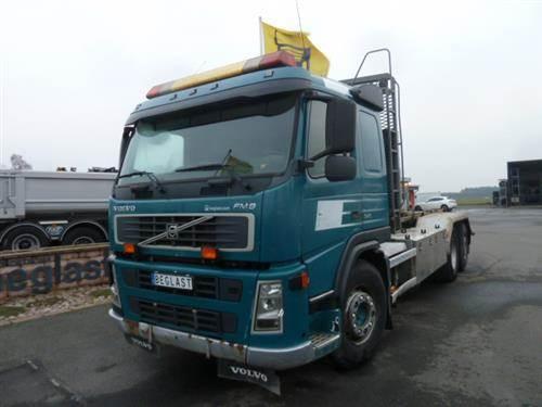 Volvo FM9, Lastväxlare med kabellift, Transportfordon