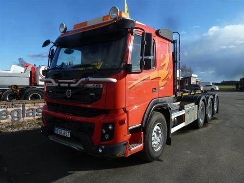 Volvo FMX, Lastväxlare/Krokbilar, Transportfordon