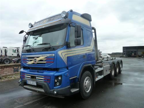 Volvo FMX, Lastväxlare med kabellift, Transportfordon