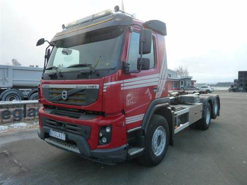 Volvo FMX460, Lastväxlare med kabellift, Transportfordon