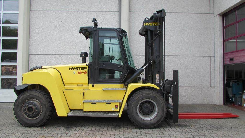 Hyster H 16 XM-6, Diesel counterbalance Forklifts, Material Handling