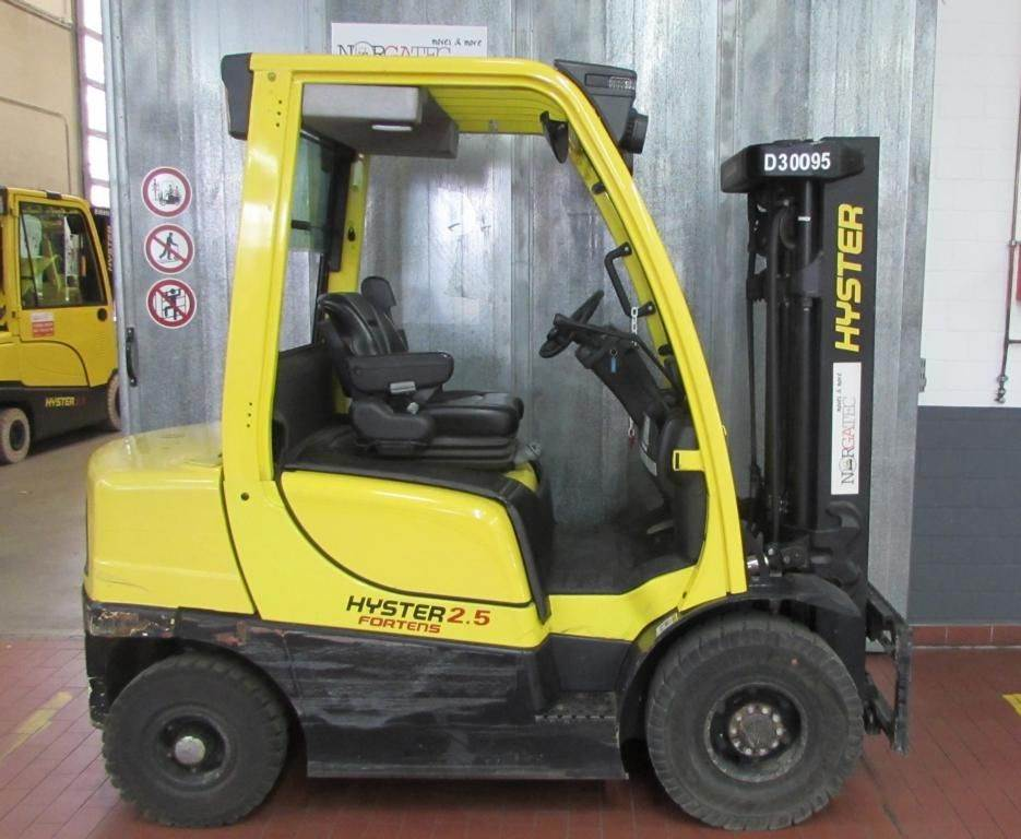 Hyster H 2.5 FT Fortens Advance, Diesel counterbalance Forklifts, Material Handling