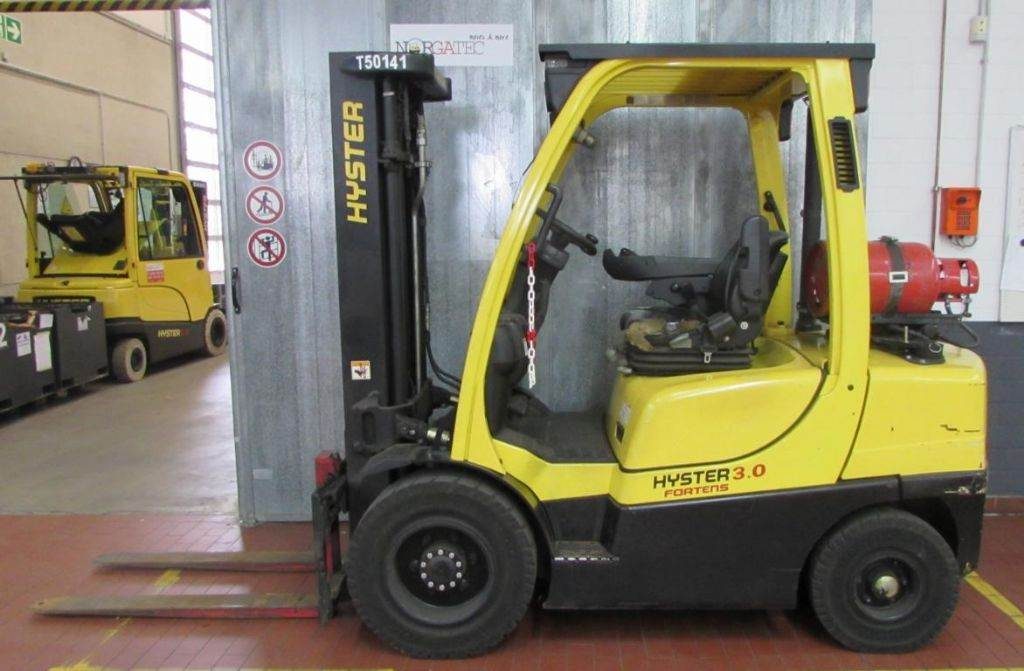 Hyster H 3.0 FT Fortens, LPG counterbalance Forklifts, Material Handling