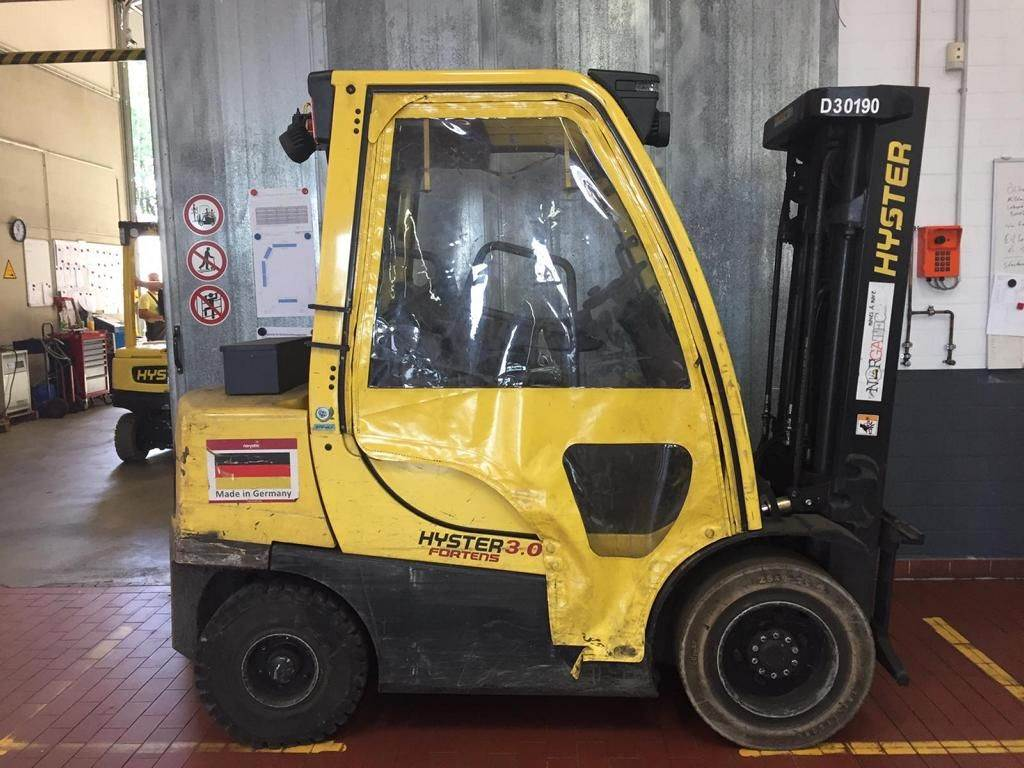 Hyster H 3.0 FT Fortens Advance, Diesel counterbalance Forklifts, Material Handling