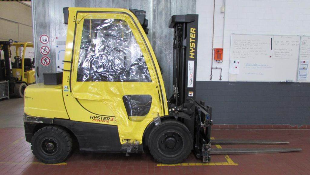 Hyster H 3.5 FT Fortens Advance, Diesel counterbalance Forklifts, Material Handling