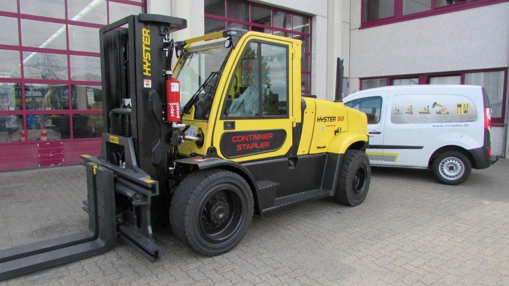 Hyster H 8.0 FT9 Fortens Advance, Diesel counterbalance Forklifts, Material Handling