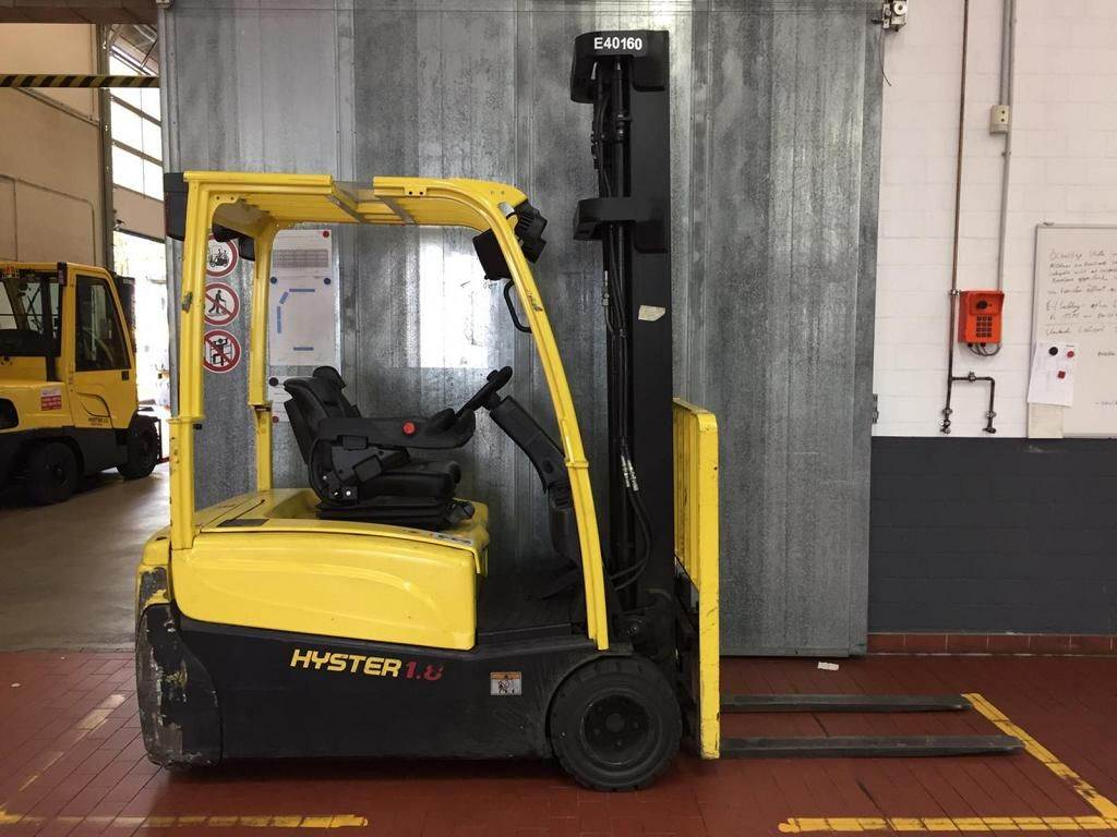 Hyster J 1.8 XNT (LWB), Electric counterbalance Forklifts, Material Handling