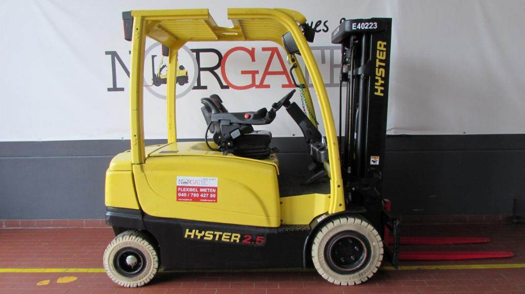 Hyster J 2.5 XN ADVANCE+, Electric counterbalance Forklifts, Material Handling