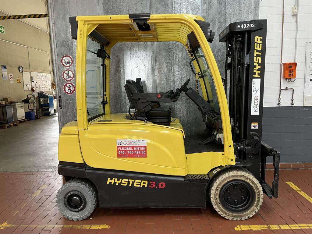 Hyster J 3.0 XN ADVANCE+, Electric counterbalance Forklifts, Material Handling