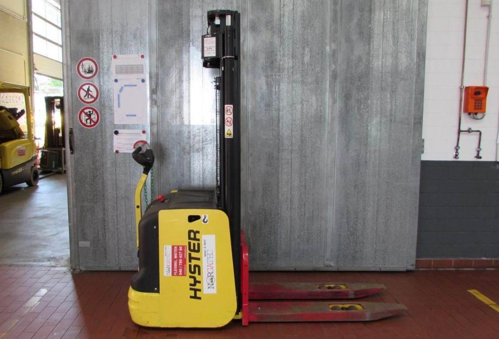 Hyster S 1.6 AC, Pedestrian stacker, Material Handling