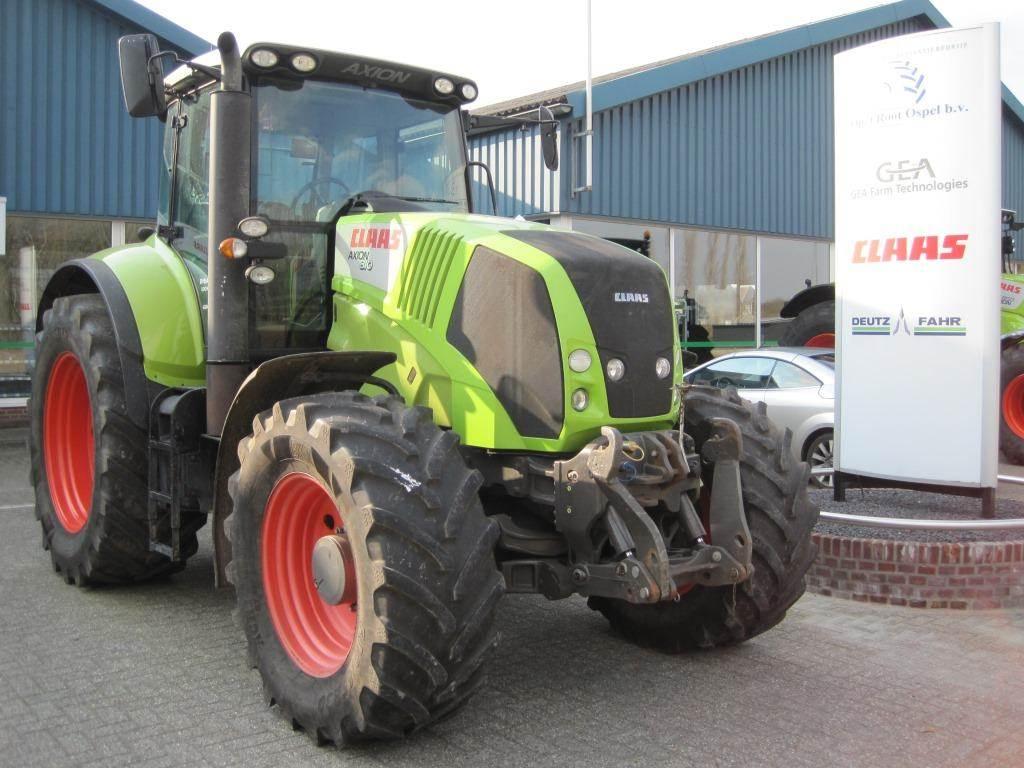 CLAAS Axion 810, Tractoren, Landbouw