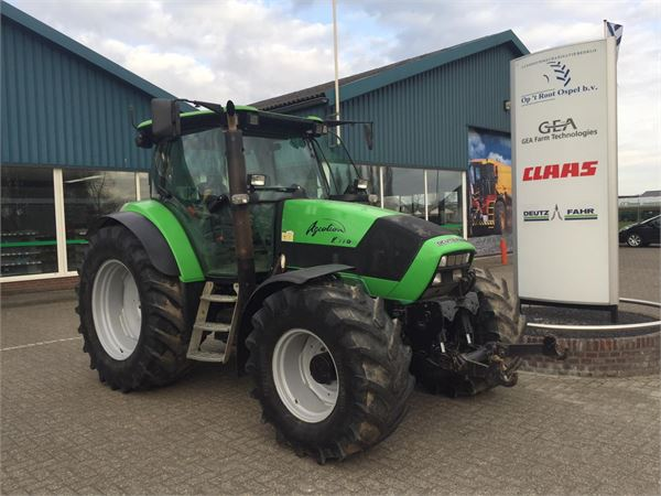 Deutz-Fahr Agrotron K110, Tractoren, Landbouw