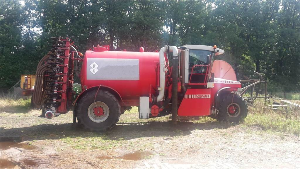 Vervaet Hydro trike, Gierverspreiders, Landbouw
