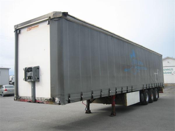 Fruehauf ONCR 39-324 A, Pressukapellipuoliperävaunut, Kuljetuskalusto