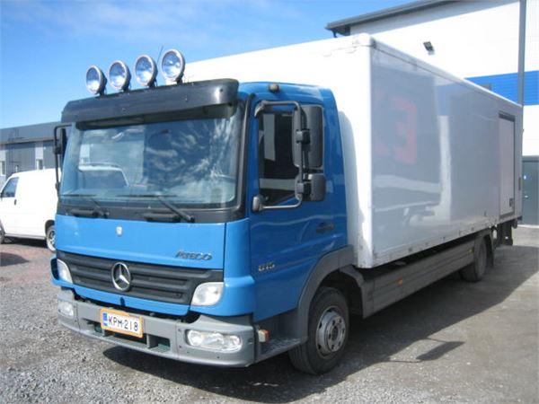 Mercedes-Benz Atego 815, Umpikorikuorma-autot, Kuljetuskalusto