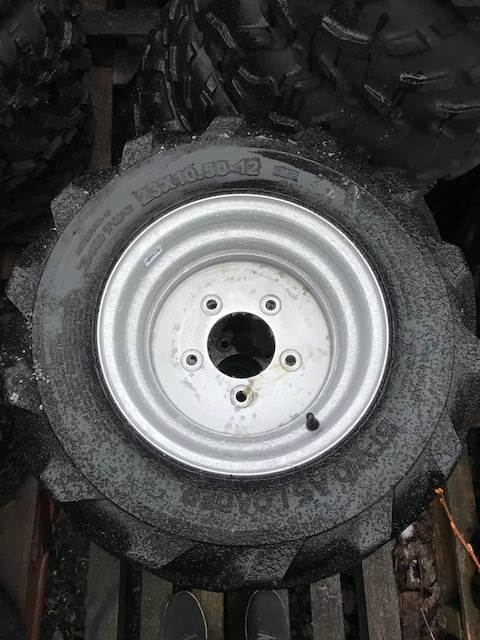 Avant däck, Däck, hjul och fälgar, Lantbruk