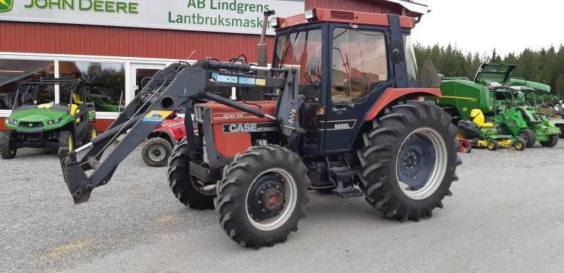 Case IH 585 XL, Traktorer, Lantbruk